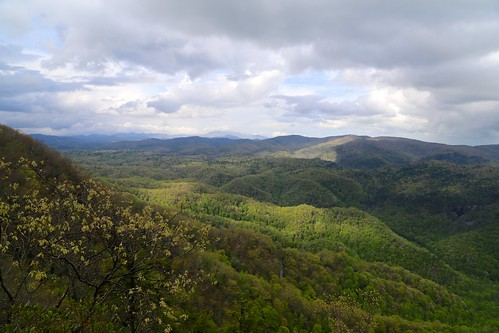 trees mountains grass clouds view hills appalachian overlook appalachia