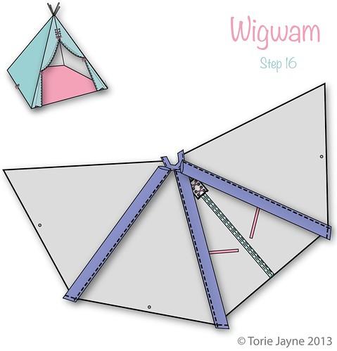 Wigwam Step 16