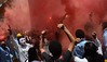 Students Use Flares And Smoke Bombs During The Celebration by Haleem Elsha3rani حليم الشعراني