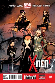 the series cover, featuring all women standing looking tough
