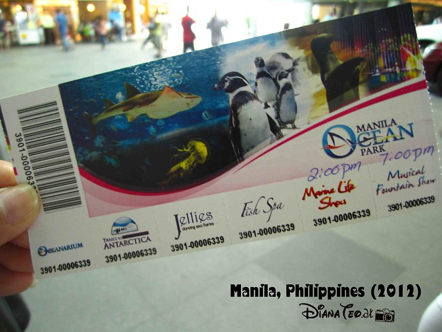 Day 5 - Philippines Manila Ocean Park 02