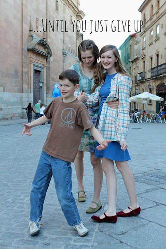 in Salamanca, Spain