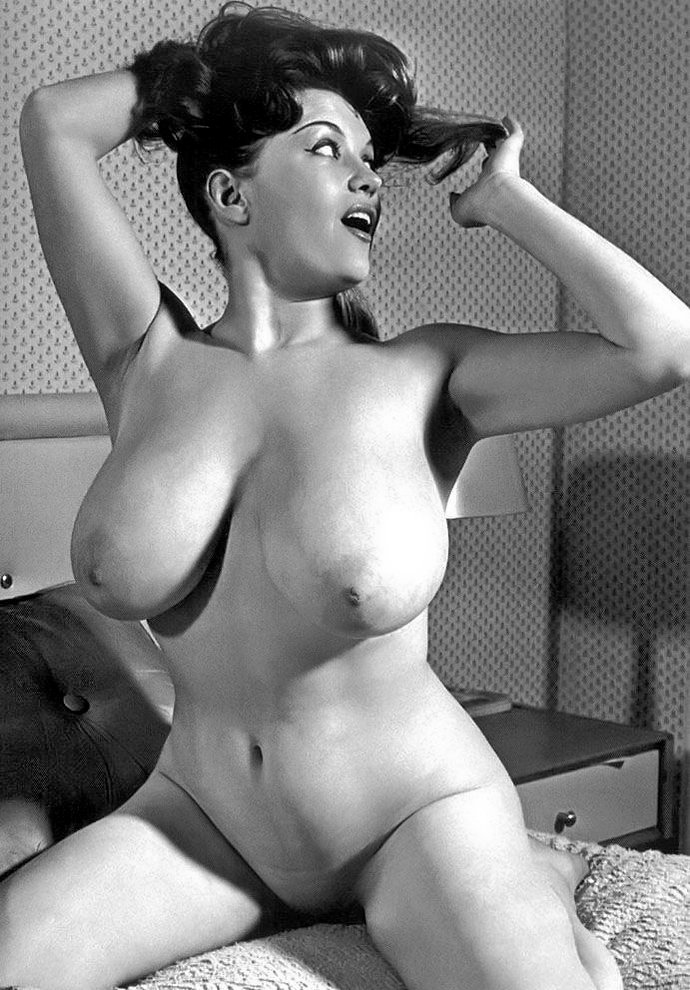 Vintage big tit models