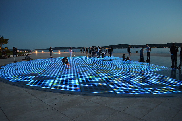 Salute to the Sun, Zadar sunset