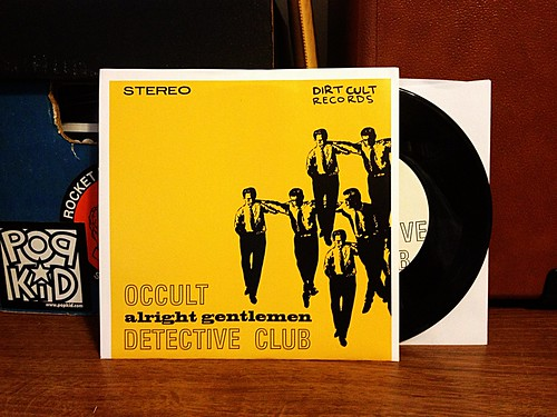 "Occult Detective Club - Alright Gentlemen 7"" by Tim PopKid"