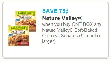 photograph relating to Nature Valley Printable Coupons named 0.75/1 Character Valley Oatmeal Squares and 0.50/1 Bomb Pops