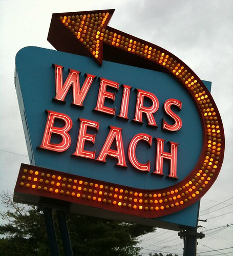 Weirs Beach Neon Sign