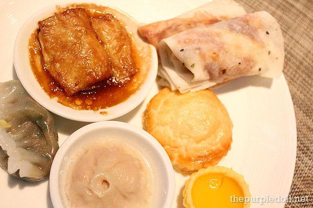 Dimsum and Peking Duck Pancake at Spiral Sofitel