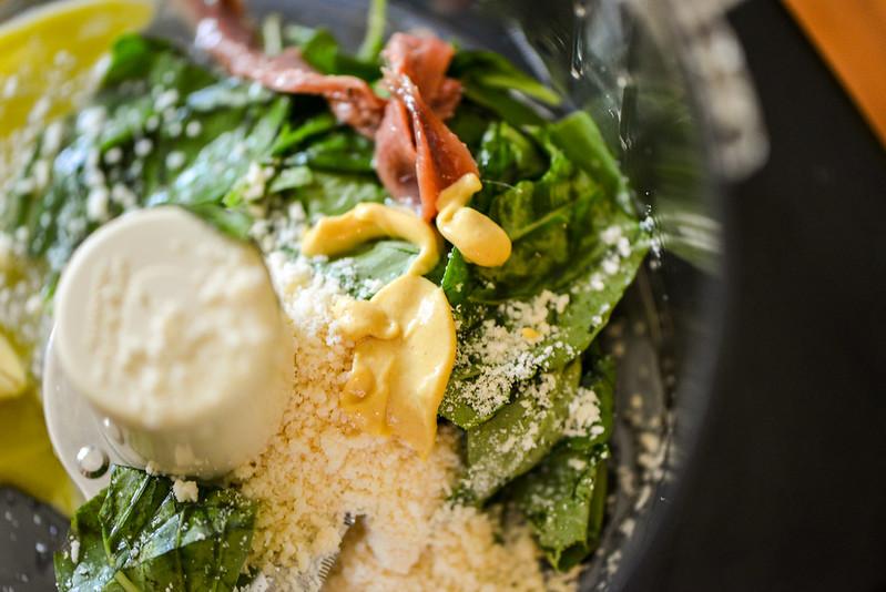 Basil and Parmesan Mayo