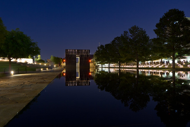Oklahoma City National Memorial by CC user mrlaugh on Flickr