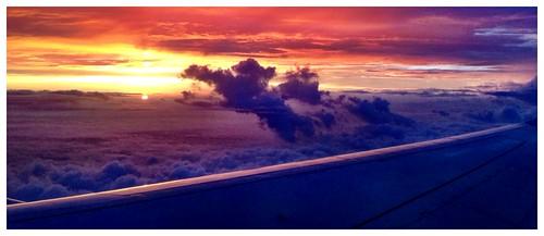 sunrise takenfromplane