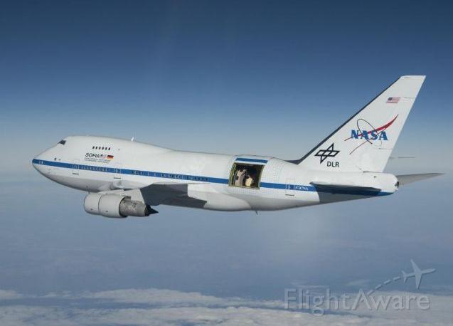 SOFIA Telescope on a 747SP