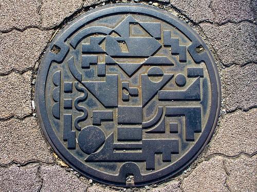 Aichi , manhole cover (愛知県のマンホール)