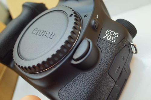 Canon EOS 70D without lens