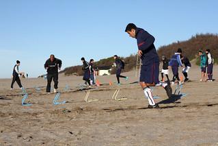 El equipo de Sportivo Barracas viajó a Valeria del Mar