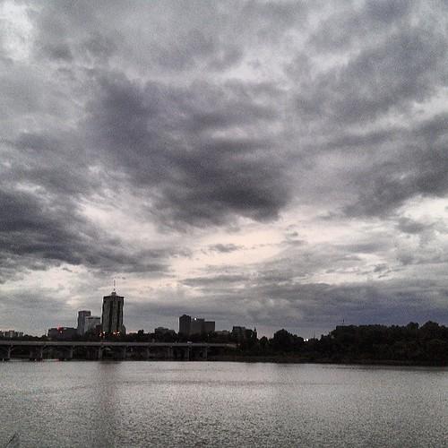 #skyviewers #clouds #tulsa #oklahoma #river