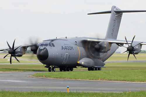 Airbus A400M f-wwmz Le bourget 2013