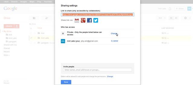 Google Drive as free CDN to your website by Anil Kumar Panigrahi - Screen 4