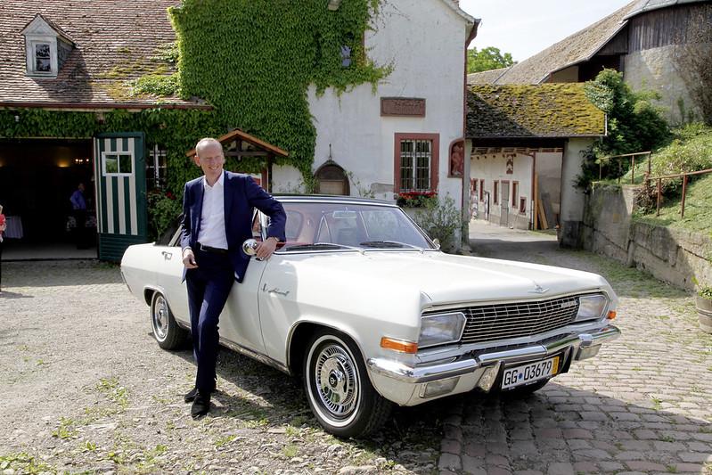 Opel-Chef Dr. Karl-Thomas Neumann auf Schloss Westerhaus