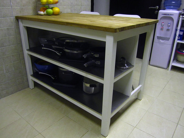 Ikea Kitchen Island With Wine Rack