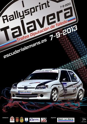 I Rallysprint de Talavera Trofeo Diputación Toledo 2013