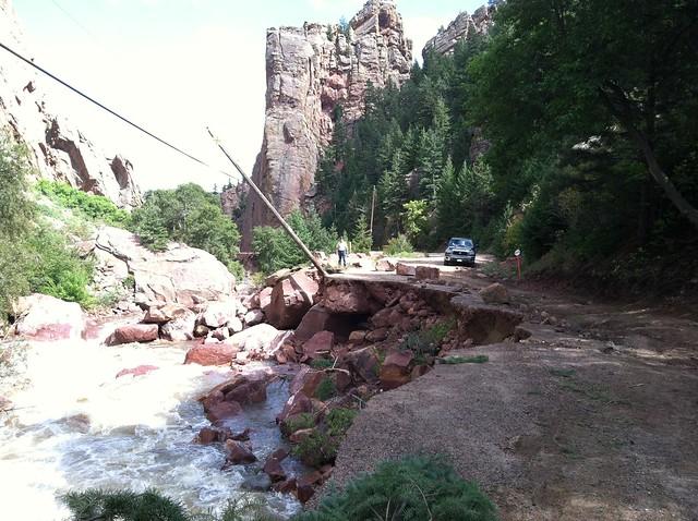 Eldorado Canyon State Park Road