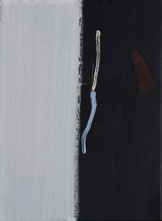 CHRISTINA CHIRULESCU o.T, Öl, Acryl auf Lw, 40x30cm, 2013