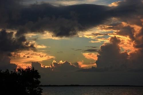 sunset holiday night cloudy keylargosunset