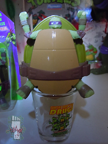 WICKED COOL TOYS :: Nickelodeon TEENAGE MUTANT NINJA TURTLES; 'WATER GROW TURTLES' - DONATELLO v (( 2013 ))