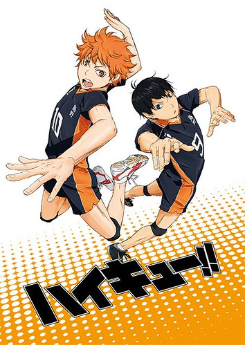 131012(1) – 『白兔玩偶』默契組合攜手打造、2014年4月新動畫《ハイキュー!!》(排球少年)製作群&首張海報一同公開!