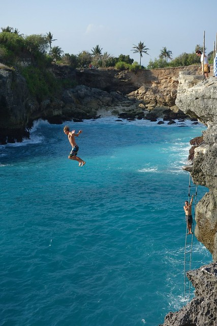 43 ft cliff jump