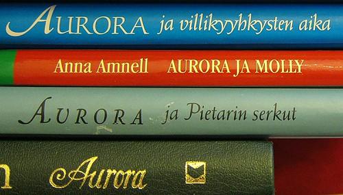 Aurora-kirjat by Anna Amnell