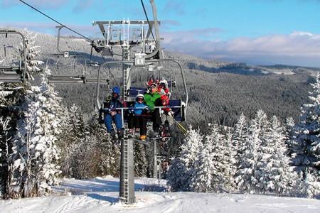 Oravská Lesná - sneh od októbra do marca