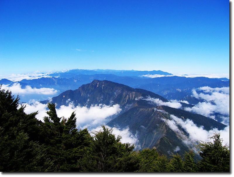 大武雲海(霧頭山) 2