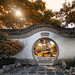 Magical Sunlight at the Chinese Garden in Montreal, Canada by ` Toshio '