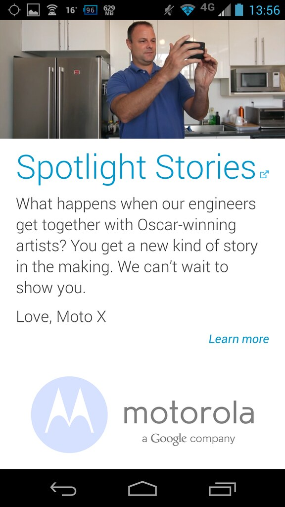 Motorola Spotlight Player