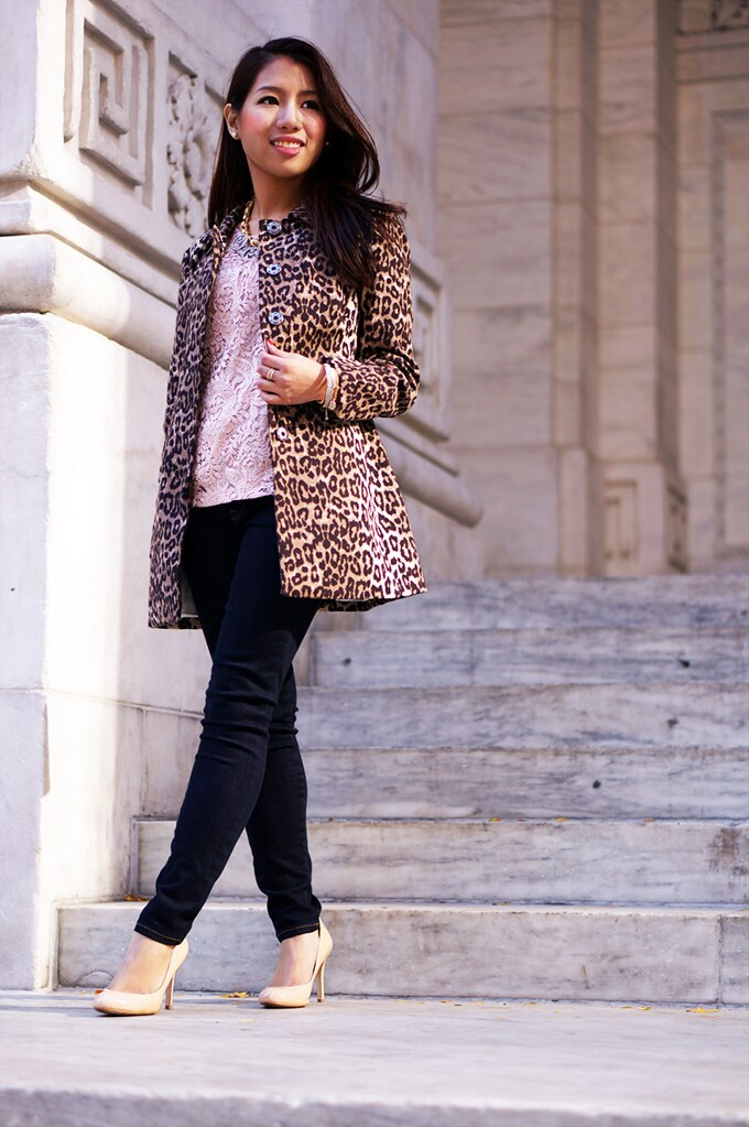 petite hues, banana republic, leopard jacket, gap 1969 legging jeans,