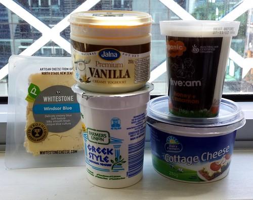 Australian Yogurt & New Zealand Cheese