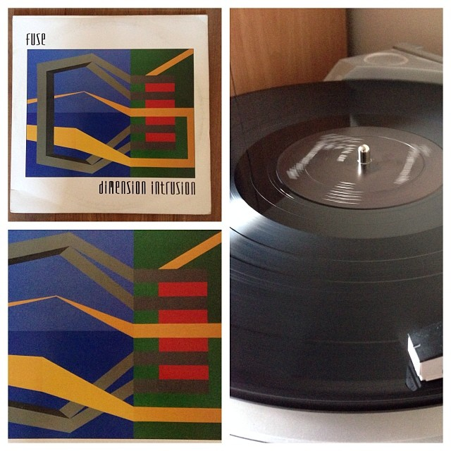 "131113_ #np ""dimension intrusion"" by Fuse #vinyl"