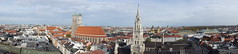 Munich skyline panorama