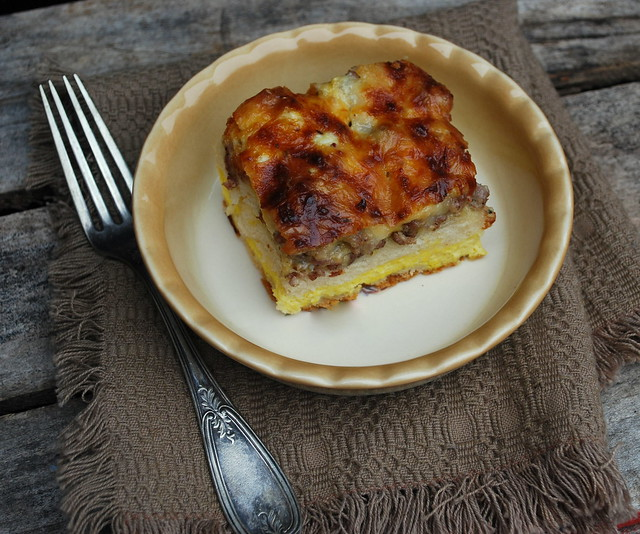 Biscuit and egg casserole1