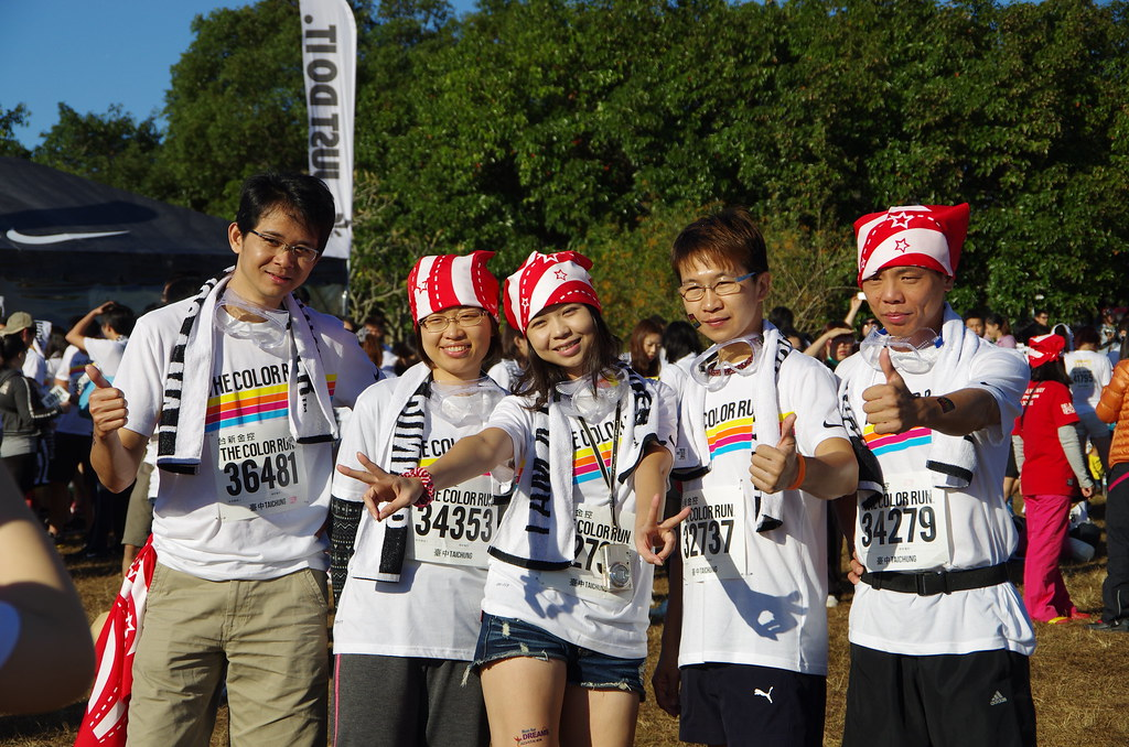 COLOR RUN 在台中