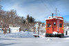 Caboose in the Snow - Centennial Park - Vienna, VA