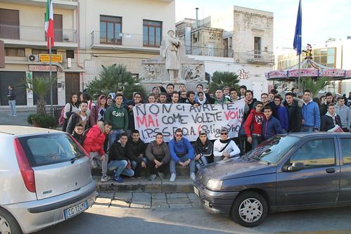 protesta alberghiero polignano