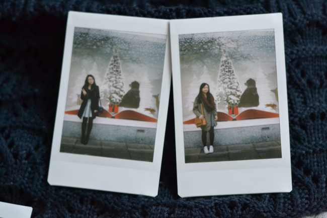 Daisybutter - UK Style and Fashion Blog: what i wore, instax, yesstyle, christmas, #bearandhare