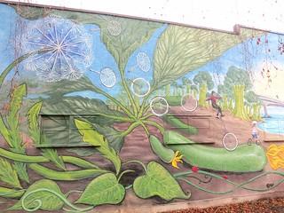Bike seeds and broccoli trees