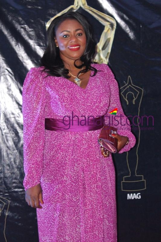 Benita Sena Okity-Duah at Ghana Movie Awards 2013
