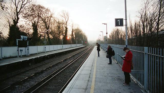 Sunrise commuters
