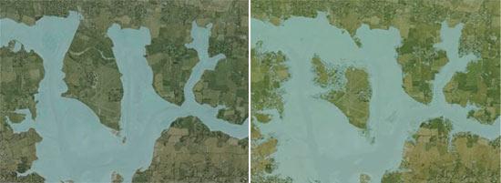Chichester Harbor高潮變化預測圖