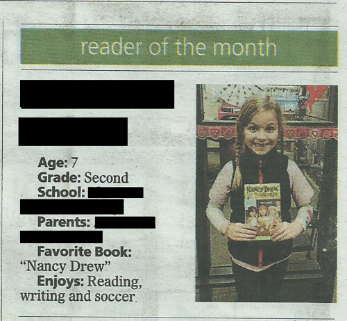 Mackenzie Reader of the Month Feb 2014 v2 by Dreams in Fiber
